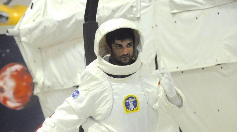 Sushant Singh Rajput trains at NASA for 'Chanda Mama Door Ke'