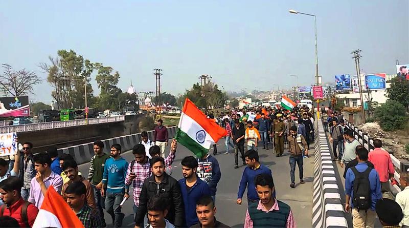 250 BJP activists arrested in Srinagar to prevent Tiranga Rally
