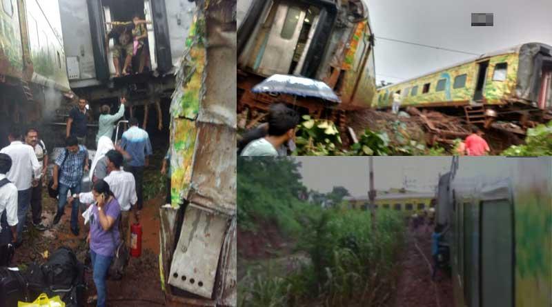 Accidents haunt railways, Nagpur-Mumbai Duronto Express derails near Thane