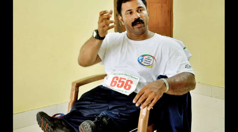 Cochin International Airport humiliates Paralympic star Joby Mathew
