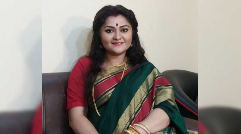 tv Actress Koneenica Banerjee shares shooting video from her new serial Aay Tobe Sohochori | Sangbad Pratidin