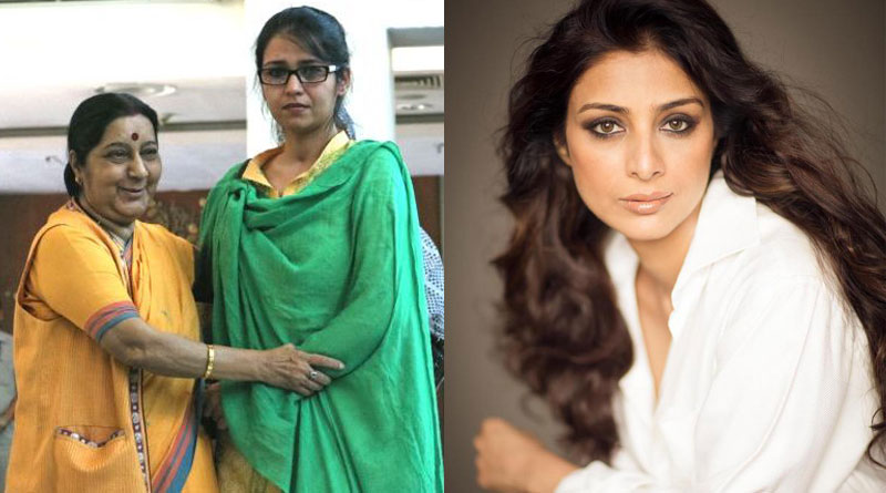 Tabu denies to play Sushma Swaraj