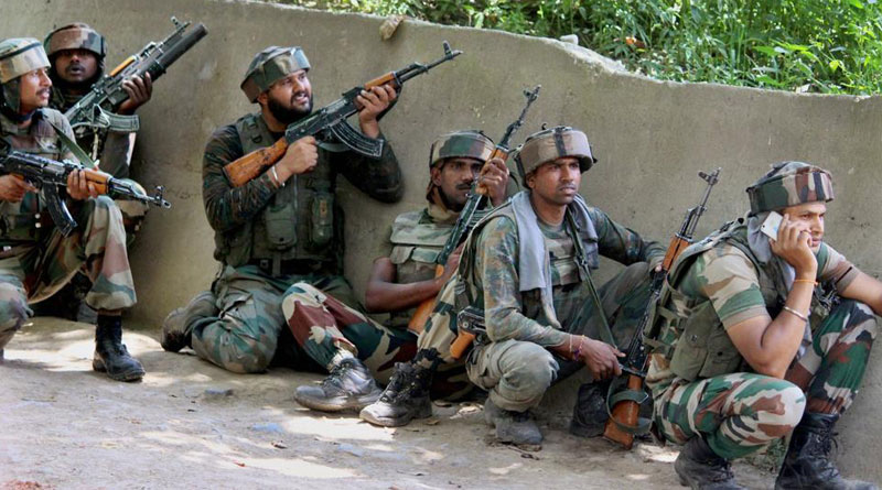 Hizbul terrorists gunned down in Shopian, lashkar militant held