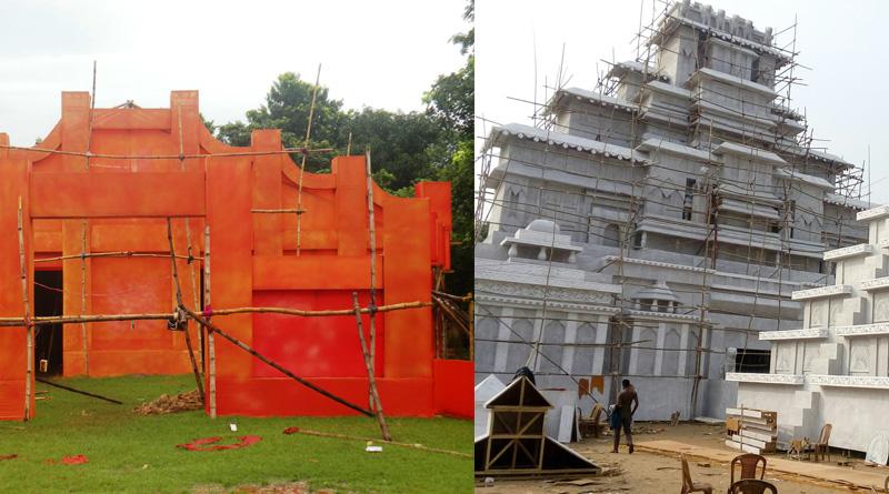 Durgapur: 'Bahubali' bone of contention for Durga Puja organizers
