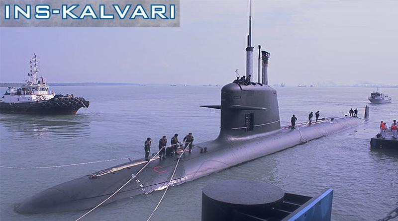 First Scorpene submarine INS Kalvari delivered to Navy