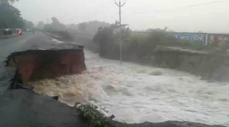 Flash flood in Birbhum disrupts communication