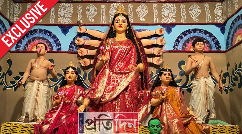 66 Pally to worship cancer victim's Durga Idol