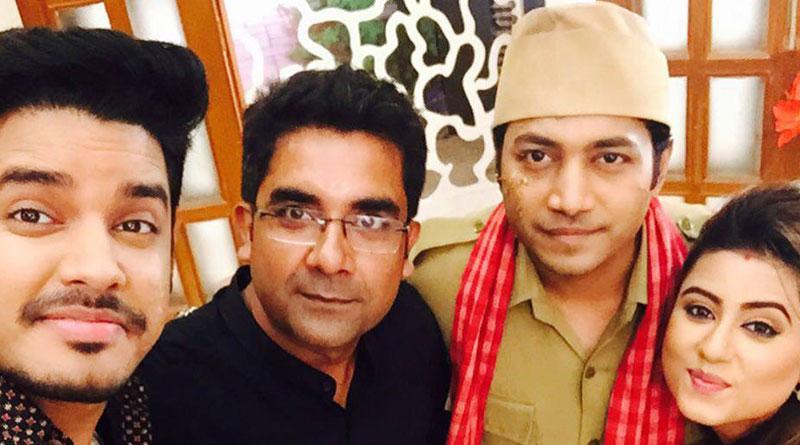 Cast of mega serial 'Bhojo Gobindo' celebrate 100 episodes