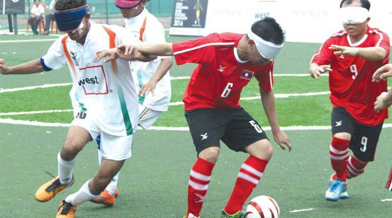 IBFF organizes coaching camp for visually impaired footballers