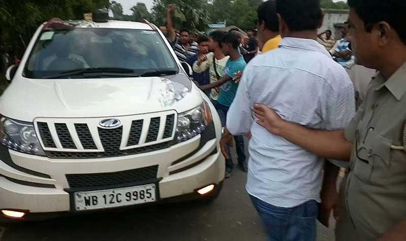 In Bolpur CPM leader Bikash Bhattacharya in trouble