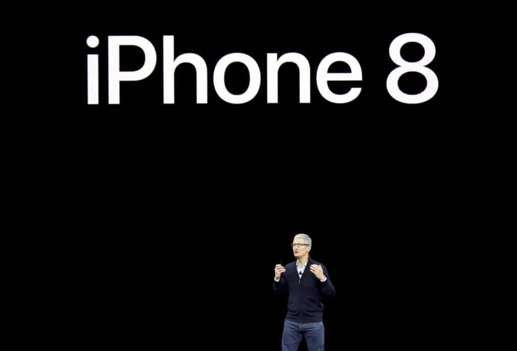Cupertino: Apple CEO Tim Cook, discusses the new iPhone 8 at the Steve Jobs Theater on the new Apple campus on Tuesday, Sept. 12, 2017, in Cupertino, Calif. AP/PTI(AP9_12_2017_000246B)