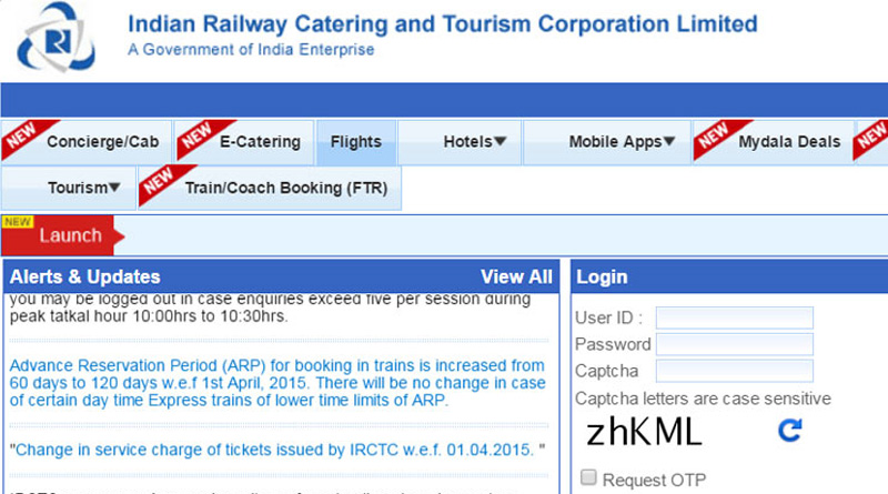 IRCTC barred payment through debit cards of these banks