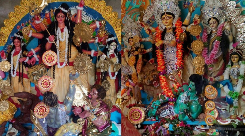 Against ritual Asansol family holds two Durga Puja, read the reason