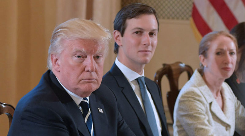 Trump's son-in-law Jared Kushner registered as female voter