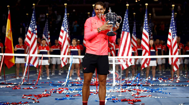US Open: Rafael Nadal crushes Kevin Anderson in title clash
