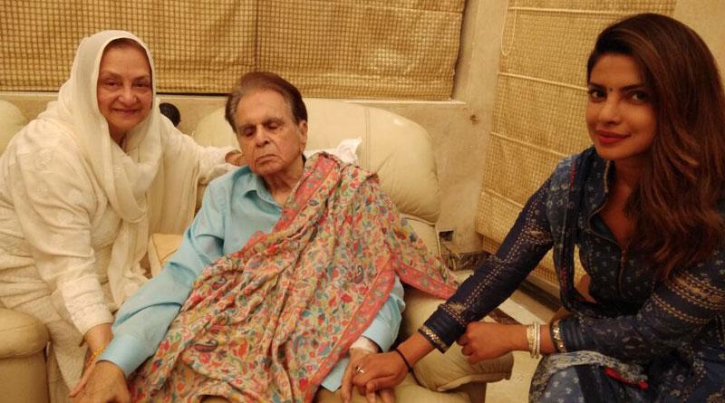 Priyanka Chopra visits ailing Dilip Kumar