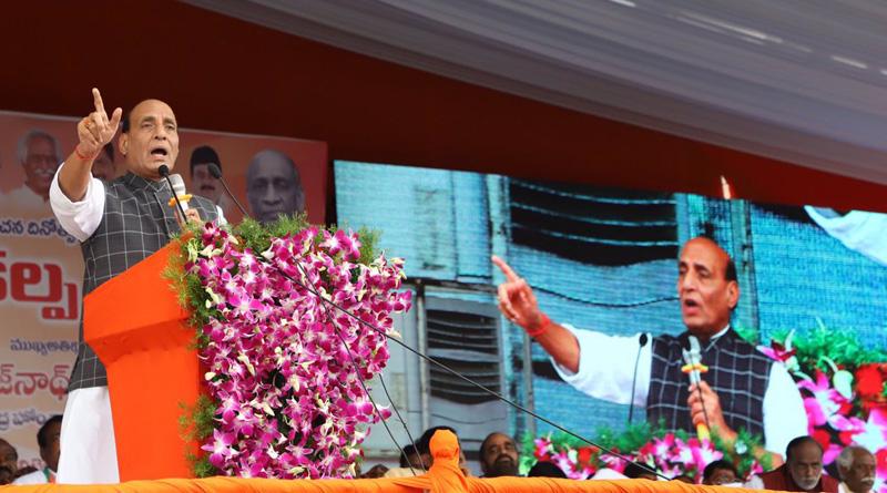 Rohingyas are illegal migrants: Rajnath Singh