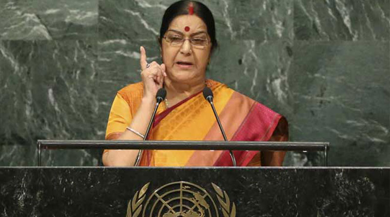 Pakistan's support to terrorists and terror outfits: Sushma Swaraj at UNGA