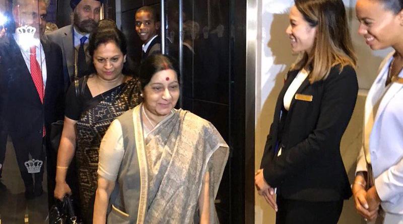 Pakistan providing 'Nuke technology' to N Korea, hints Sushma Swaraj