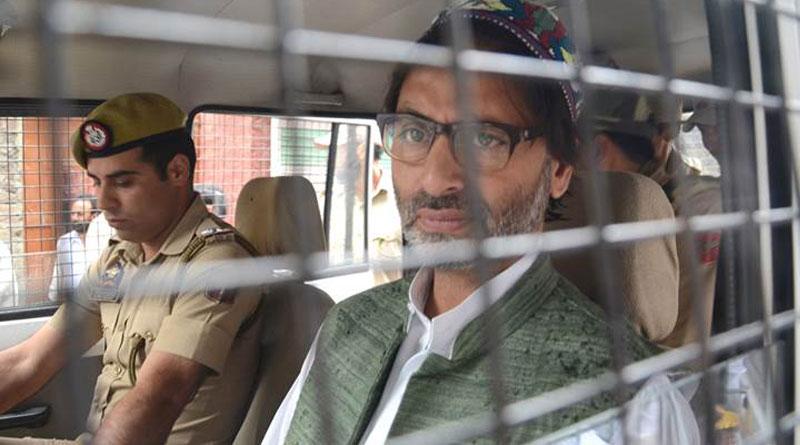 Massive crackdown on Kashmiri separatists, Yasin Malik arrested