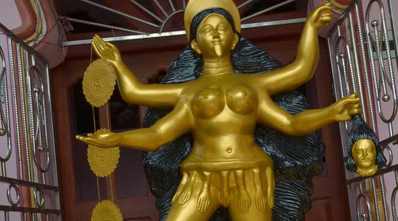 'Kannyashree' Kali idol prepare in Birbhum