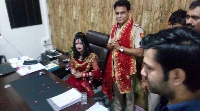 Radhe Maa gets VIP treatment at Delhi police station