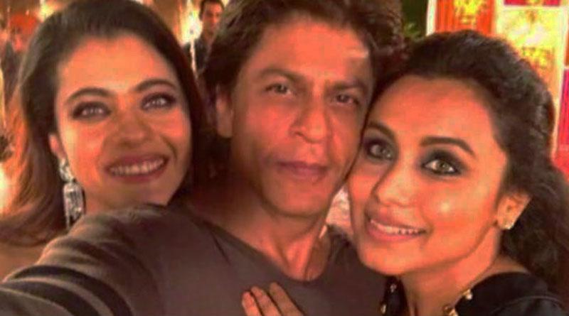SRK thanked Rani Mukerji and Kajol with adorable pic
