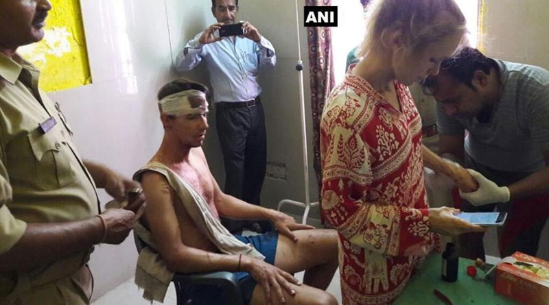 Sushma Swaraj to the rescue of assaulted Swiss couple in Agra