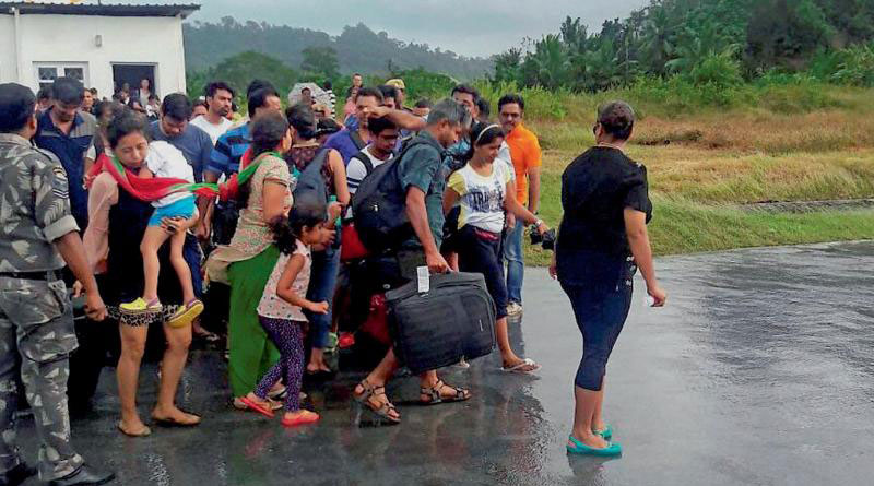 Tourists from West Bengal stuck in Andaman