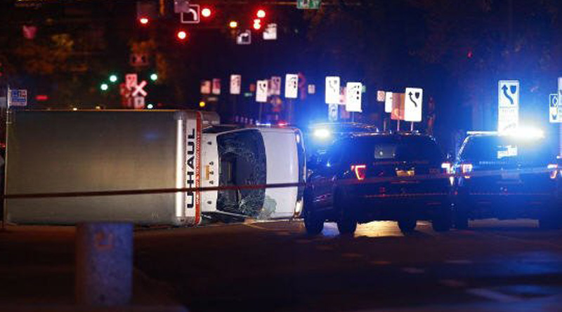 Terror attack horror in Canada as driver with ISIS flag deliberately rams pedestrians