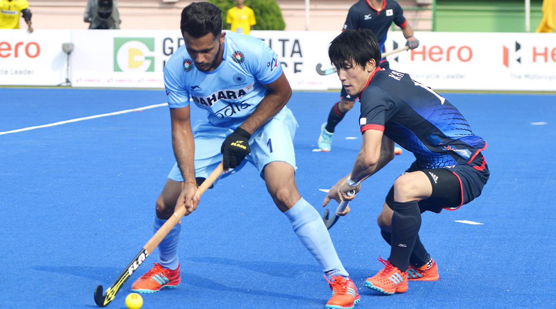 India thrashes Japan by 5-1 in Asia Cup 2017 in Dhaka