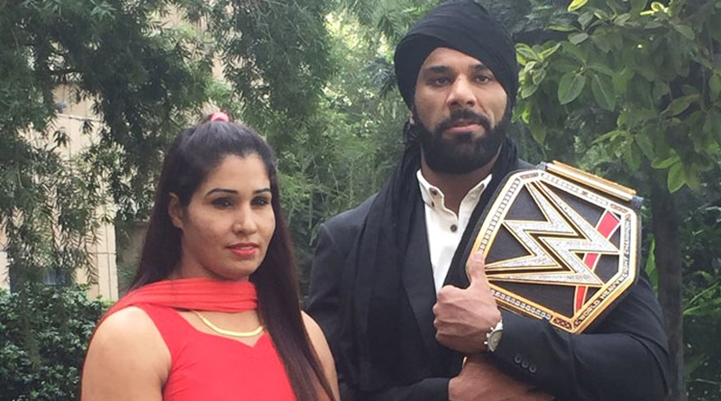 Wrestler Kavita Devi scripts history, signs WWE contract