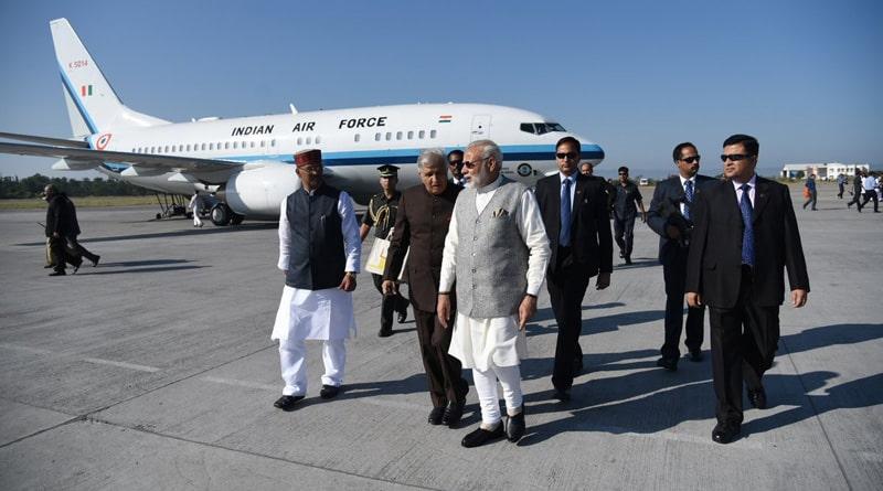 Narendra Modi in Kedarnath
