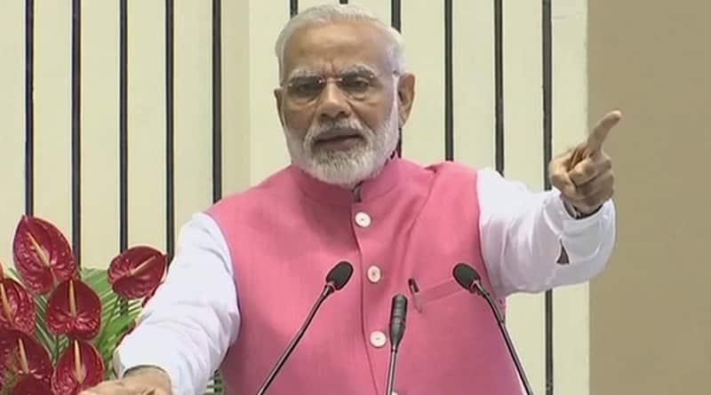 PM Modi advice BJP MPs to concentrate on Development