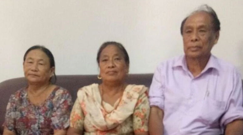 After 50 years,  a naga woman reunited with her family