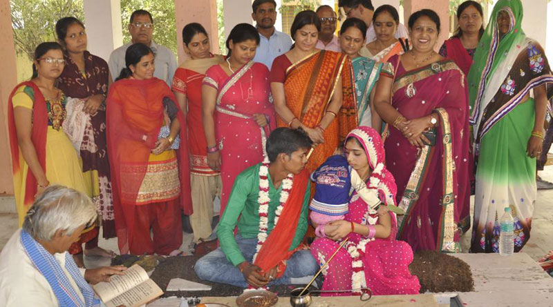 Happy end to love story of a Rajasthan couple