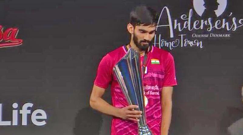 Kidambi Srikanth wins Denmark Open SSP