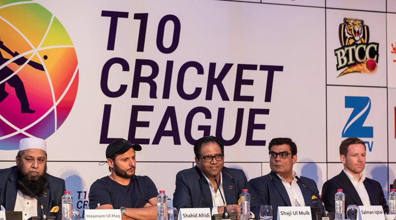 Shahid Afridi, Kumar Sangakkara to feature in T10 cricket