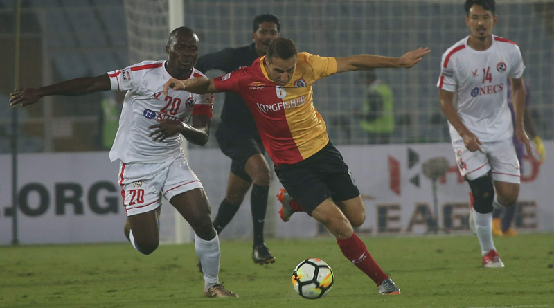 Hero I-League: East Bengal vs Aizwal match ended 2-2 Draw