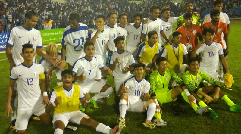 India beats Turkmenistan in AFC U19 Championship qualifier