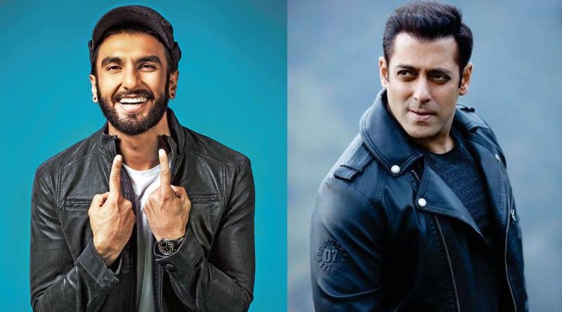See how Ranveer Singh busted Salman Khan's stress on Race 3 sets