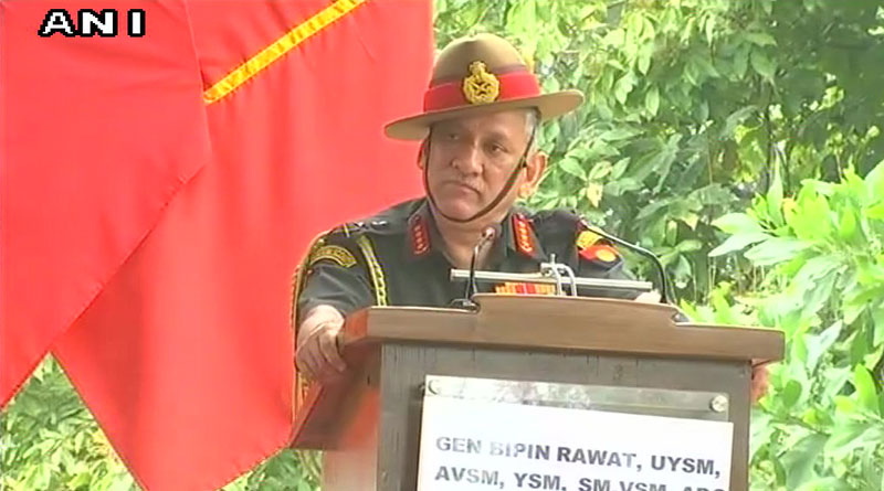 Chinese troops in Doklam, says Army chief Bipin Rawat
