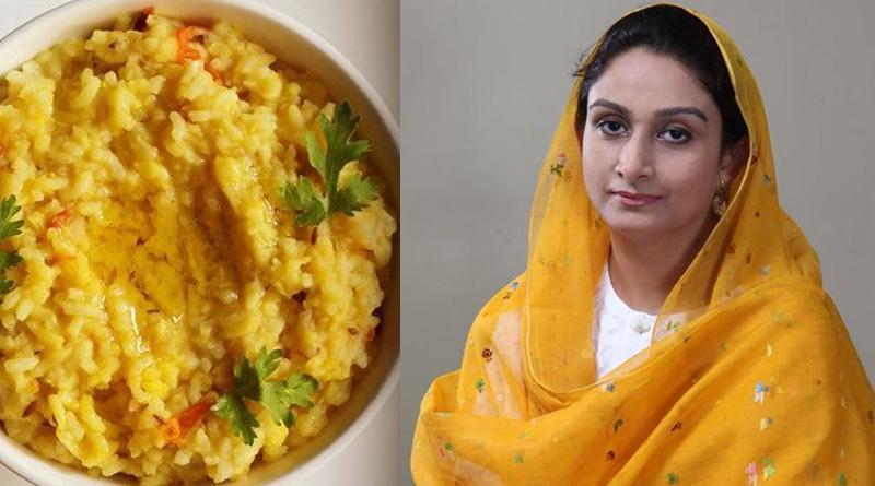 Khichdi will not be national dish, Harsimrat Kaur Badal spikes rumours