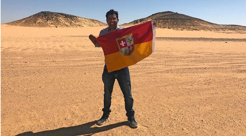 Indore youth claims no-man's land near Egypt, declares himself 'king'