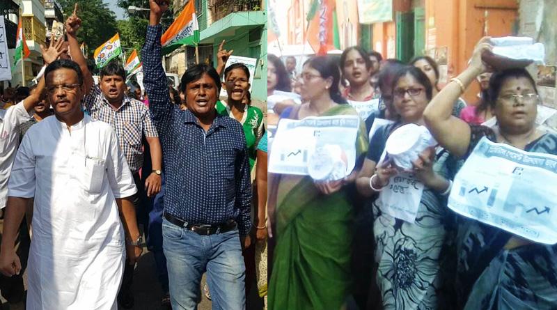 DeMo anniversary: Protest counter protest freeze Kolkata