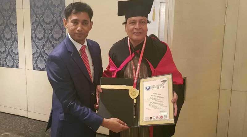 Artist from bengal gets international award