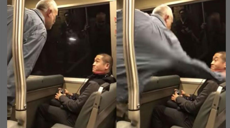 Asian man assaulted, abused racially on California's BART train