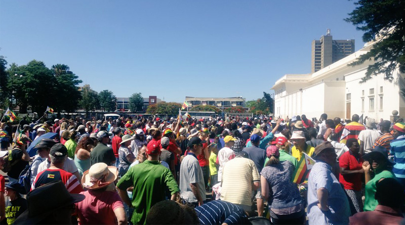 Zimbabwe to celebrate 'end' of Mugabe era with massive parade