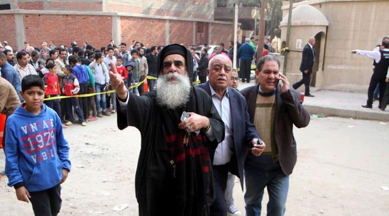 Gunman attacks Church in Egypt, 10 killed