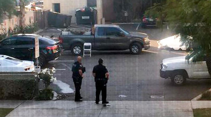 Shootout in California, 2 dead